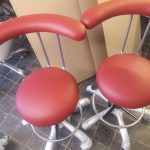 Стілець для лікаря стоматолога, асистента з упором на поперек (42 варіанти)