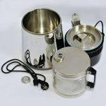 Дистиллятор води металевий корпус