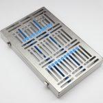 Бокс (лоток-касета) для стерілізації інструмента (20шт.)