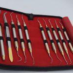Ручні інструменти для професійного очищення зубів (набір пародонтолога)