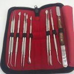 Зуботехнічні інструменти + ЧАША (набір)