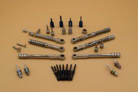 Набір викруток з динамометричними ключами для імплантології (універсальний для різних систем)