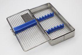 Бокс, лоток-касета для стерилізації інструмента (хірургічна на 7 інст.)