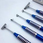 Набір кюрет для розтяжки надкістки і ушивання слизової без натяжки
