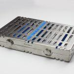 Бокс (лоток-касета) для стерилізації інструмента (10шт./замок)
