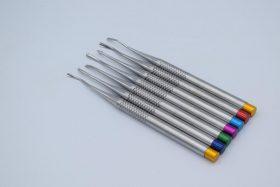 Набір міні-елеваторів хірургічних із зубчиками