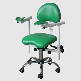 Крісло лікаря-стоматолога для роботи з мікроскопом, стілець стоматолога Endo Slide