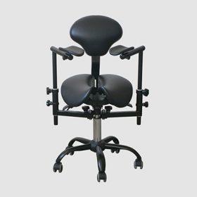 Крісло (стілець) лікаря-стоматолога для роботи з мікроскопом Sadle 2d