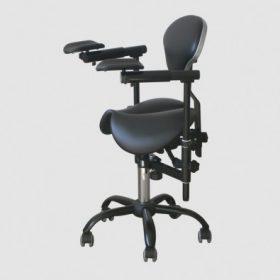 Крісло лікаря-стоматолога для роботи з мікроскопом Saddle Slide