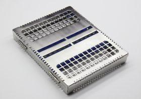 Бокс (лоток-касета) для стерилізації інструменту (10шт.)